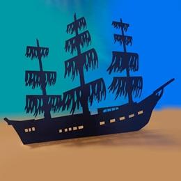Ocean Floor Shipwreck Kit