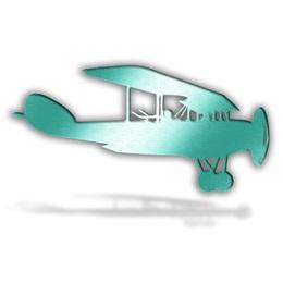 Teal Bi-Plane Silhouette Kit
