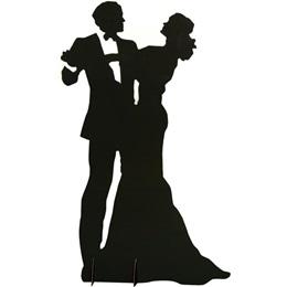 Dancing Couple Silhouette Kit