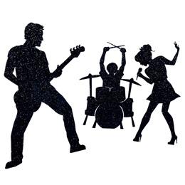 Rock N Roll Silhouettes