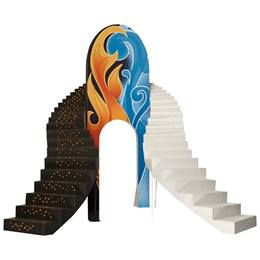 Fire and Ice Staircase and Arch Theme Kit