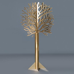 Gold Die-cut Tree Kit