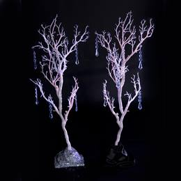 Glitter Gala White Branches Kit (set of 2)