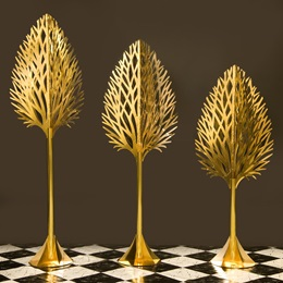 Golden Touch Ballroom Trees Kit (set of 3)