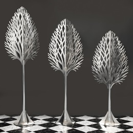 Silver Touch Ballroom Trees Kit (set of 3)