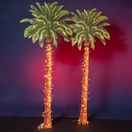 Desert Lights Palm Trees Kit (set of 2)