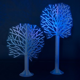 Out of the Woods Blue Trees Kit (set of 2)