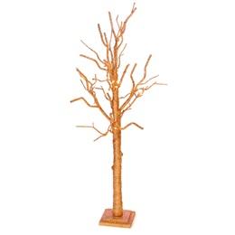 Short Copper Glitter Tree Kit