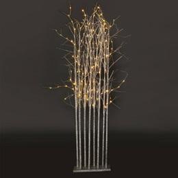 Large Silver Glitter Tree Cluster Kit