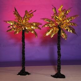Glamorous Golden Palm Trees Kit (set of 2)