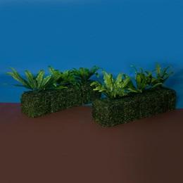 Garden Greenery Hedges Kit (set of 2)