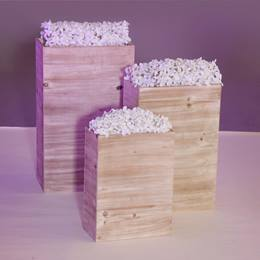 Garden Tranquility Planters Kit (set of 3)