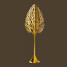Metallic Gold Tree Kit