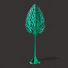 Metallic Teal Tree Kit