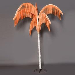 Vibrant Palm Tree - Orange