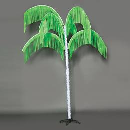 Vibrant Palm Tree - Lime Green
