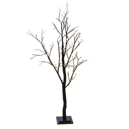 Large Glitter Light-up Tree - Black
