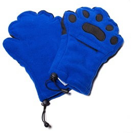 Adult Size Bear Hands Gloves, Unimprinted