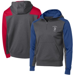 Colorblock Fleece 1/4 Zip Hoodie