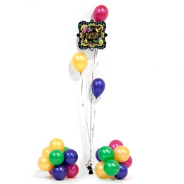 Mardi Gras Mania Balloons Kit