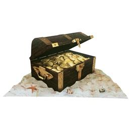 One-Dimensional Printed Treasure Chest