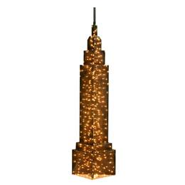 Lit Empire State Building