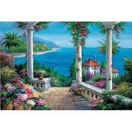 Coastal Villa Mural