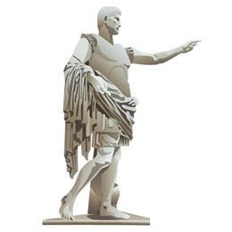 Roman Statue Cut-Out