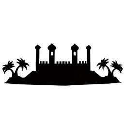 Black Arabian Silhouette Kit
