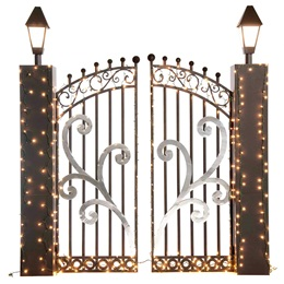 Corrugated Mansion Gate Kit