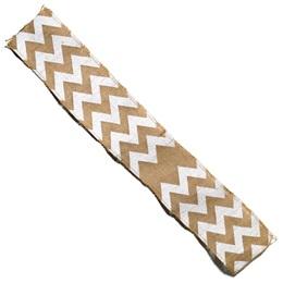"""Chevron Burlap Fabric, 59"""" x 20 yds"""