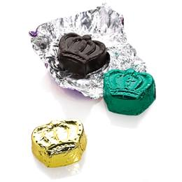 Mardi Gras Chocolate Crowns