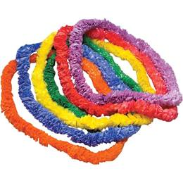 Tropical Plastic Leis package of 12