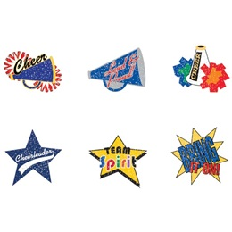 Temporary Tattoo Set – Glitter Cheer