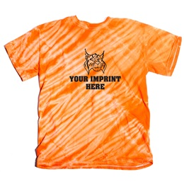 Tiger Stripe Tie Dye T-Shirt, Adult