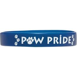 Printed Silicone Wristband – Paw Pride