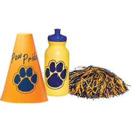 Yellow/Blue Megaphone Set