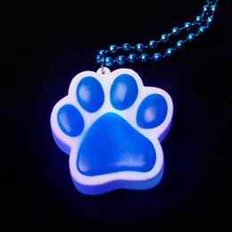 Light-up Paw Necklace