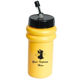 Mini Budget Bottle w/Straw & Lid