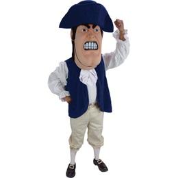 Revolutionary Solider Mascot Costume