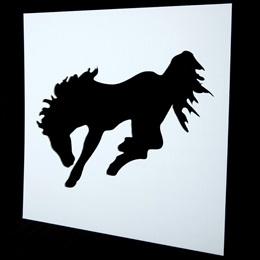 Mustang Stencil