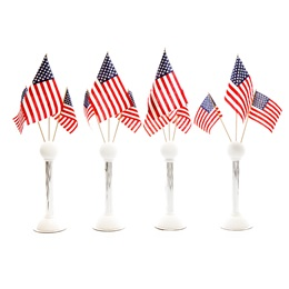 Patriotic Pride Flag Stands Kit (set of 4)