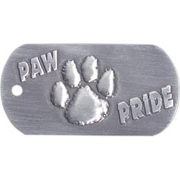 Embossed Dog Tag - Paw Pride