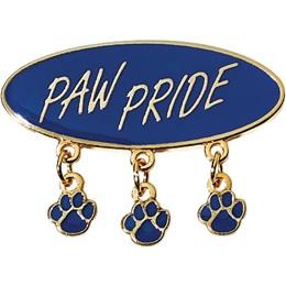 Paw Pride Award Pin – Paw Print Charms
