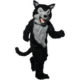 Fierce Wolf Mascot Costume