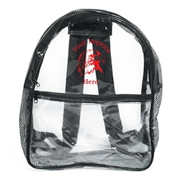 Clear Vinyl Backpack