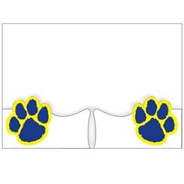 School Folder with Paw Shaped Pockets