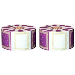 Regal Purple Ottomans Kit (set of 2)
