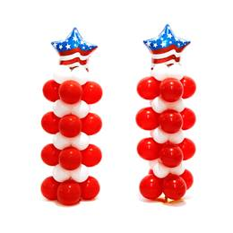 Patriotic Glory Balloon Stands Kit (set of 2)