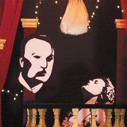 Phantom of the Opera Silhouette Mural Kit